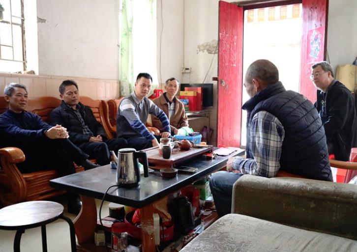 横沥镇残联开展2019年春节慰问系列活动